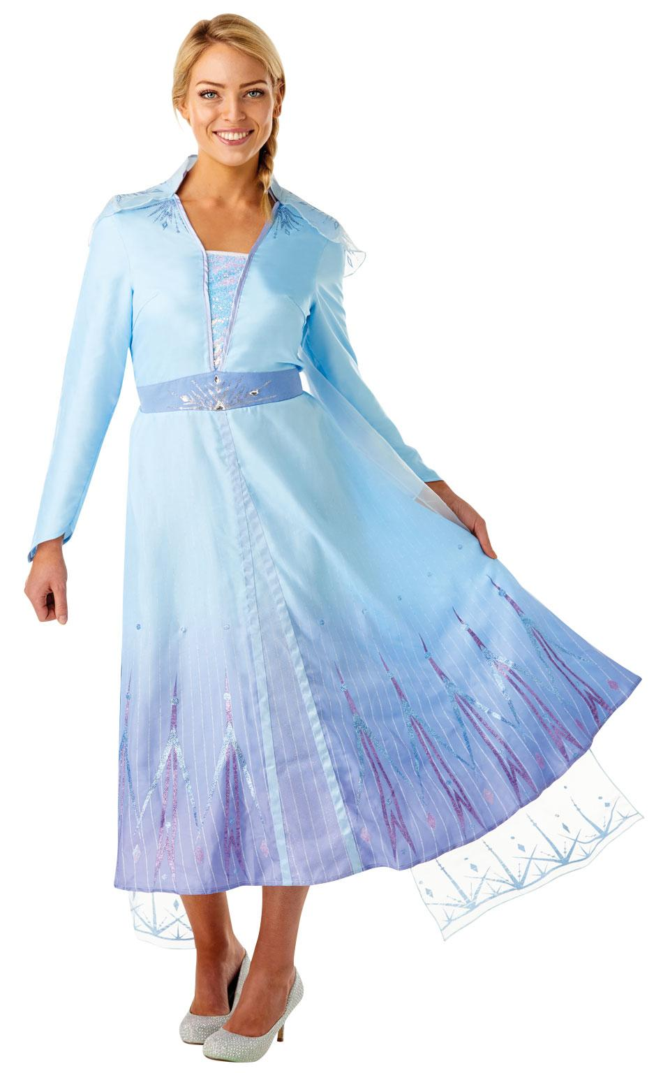 Frozen 2 Adults Elsa Travel Costume