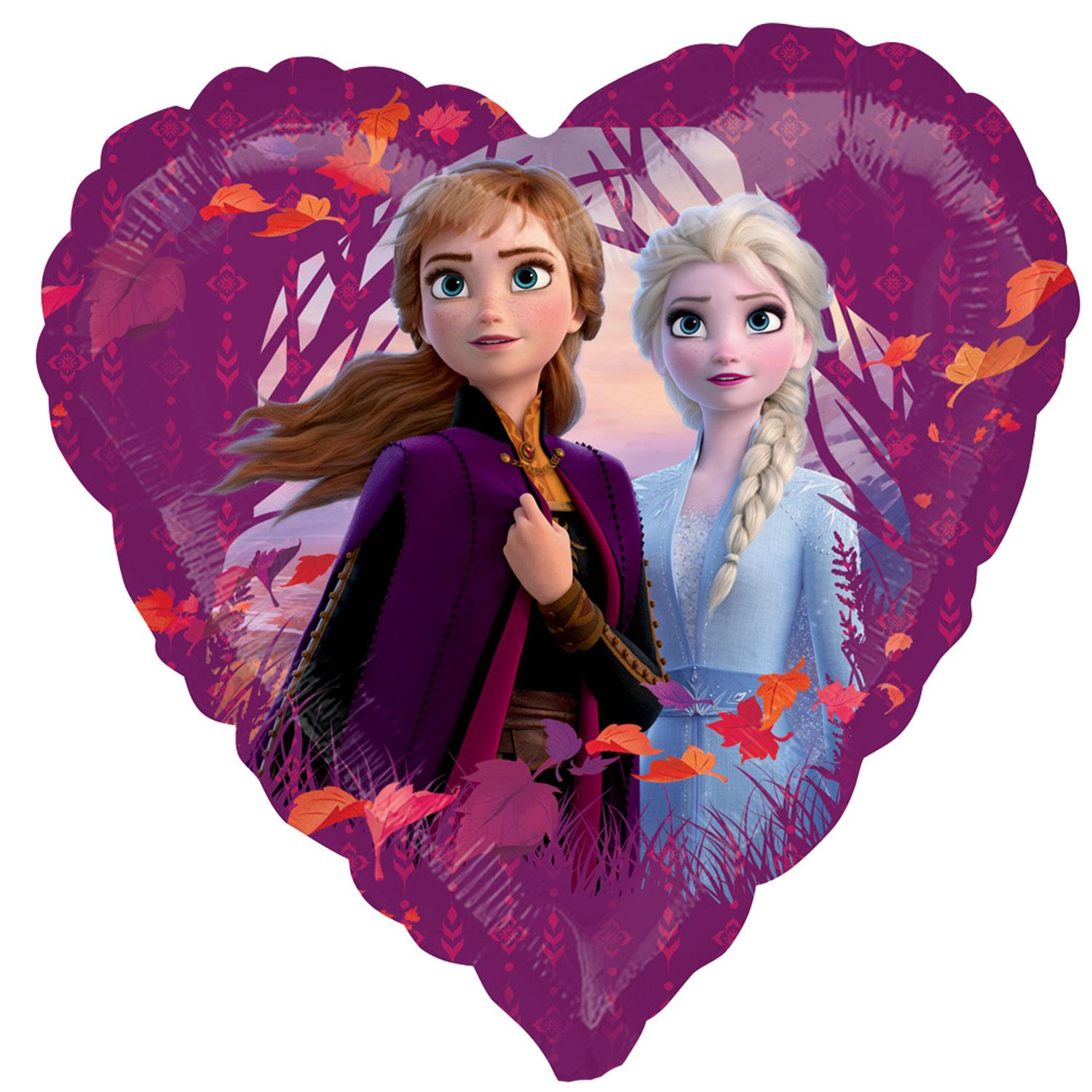 Disney Frozen 2 Foil Heart Balloon