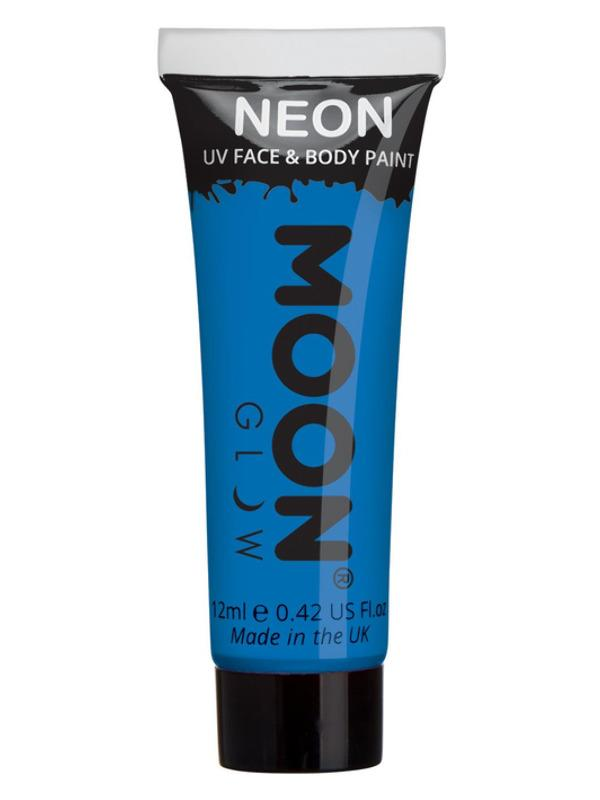 UV Face Paint Neon Blue