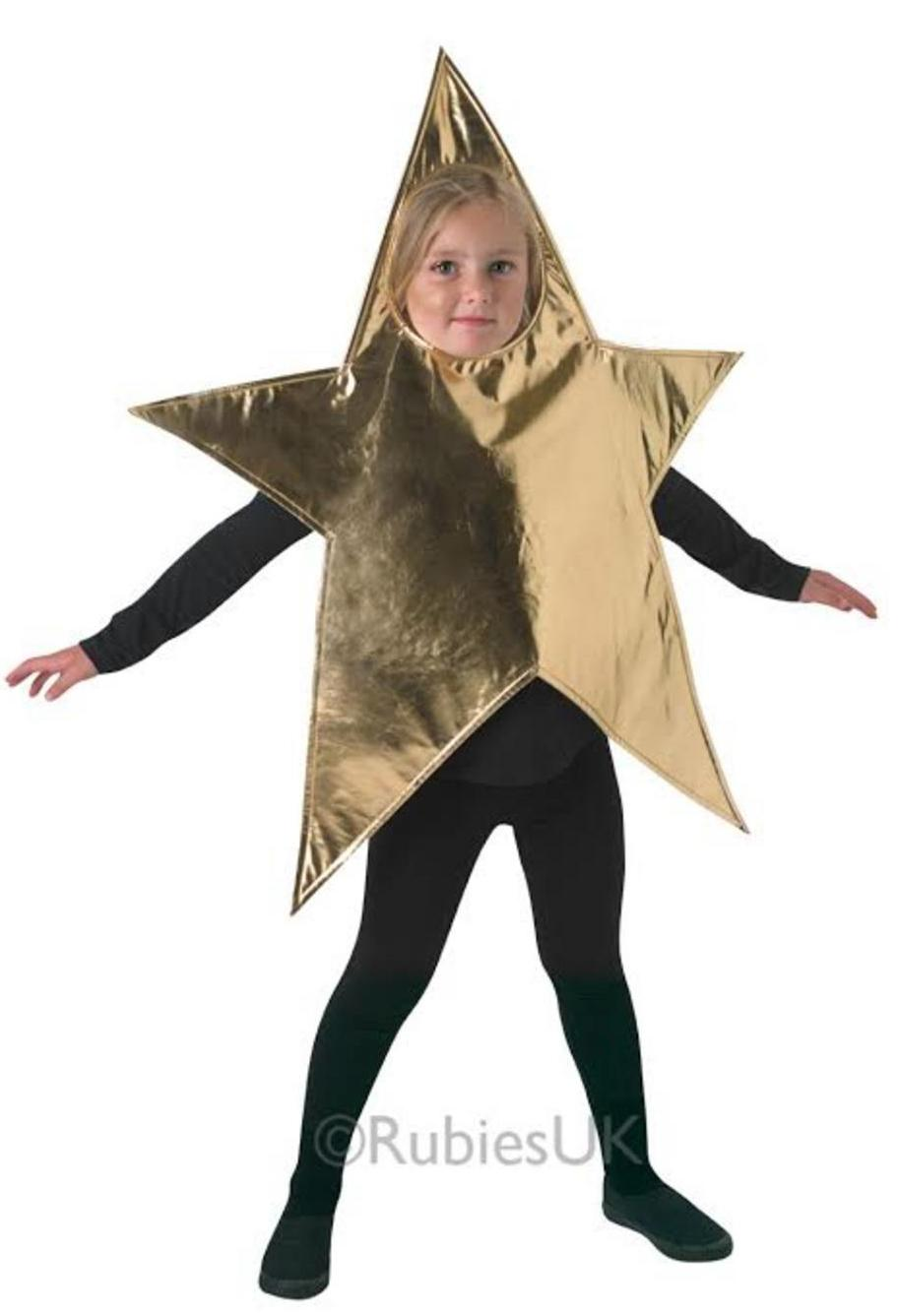 Kids Nativity Gold Star Costume
