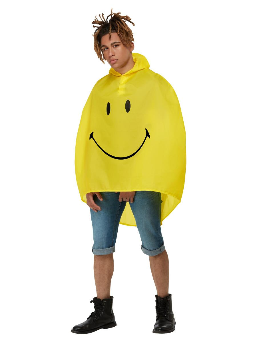 Smiley Poncho Yellow