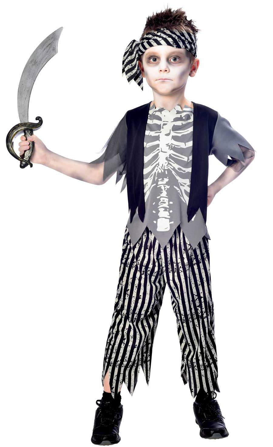Kids Zombie Pirate Costume
