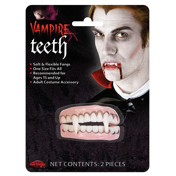 Horror Vampire Teeth Latex