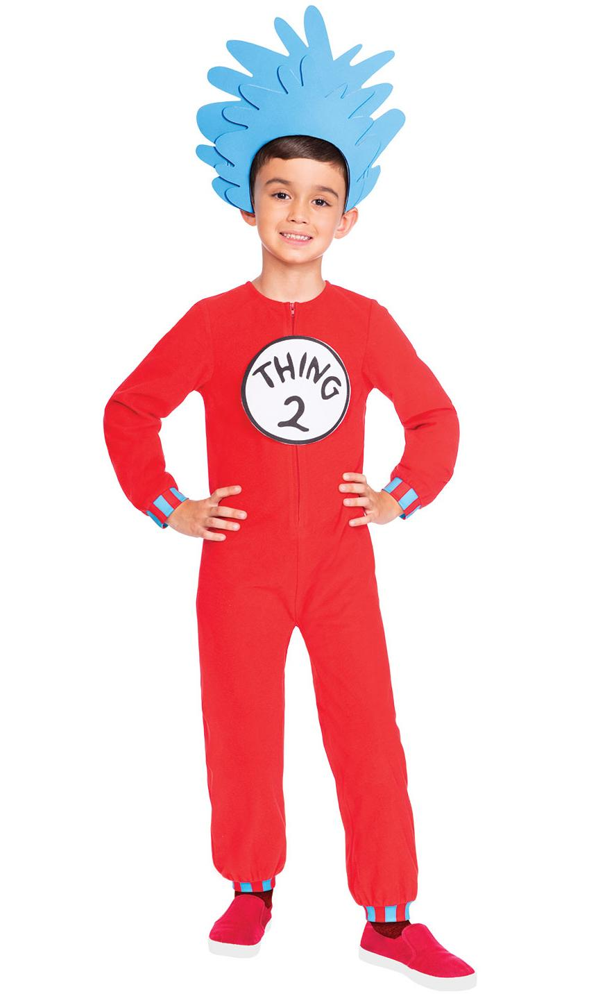 Kids Thing 1 or Thing 2 Costume