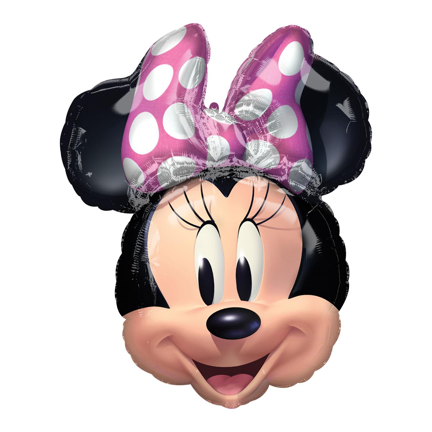 Foil Balloon Disney Minnie Mouse Head