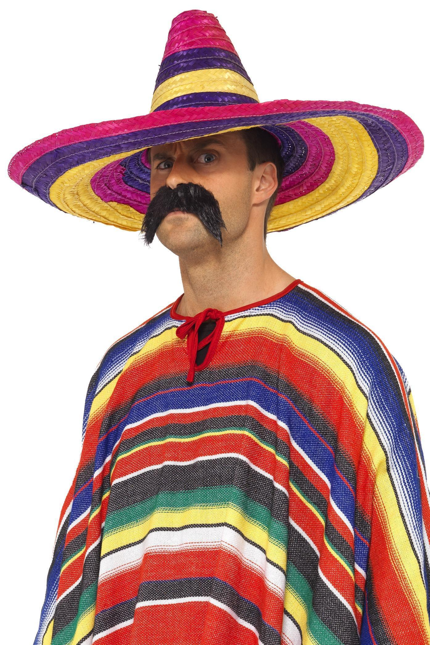 Large Sombrero Multi-Coloured
