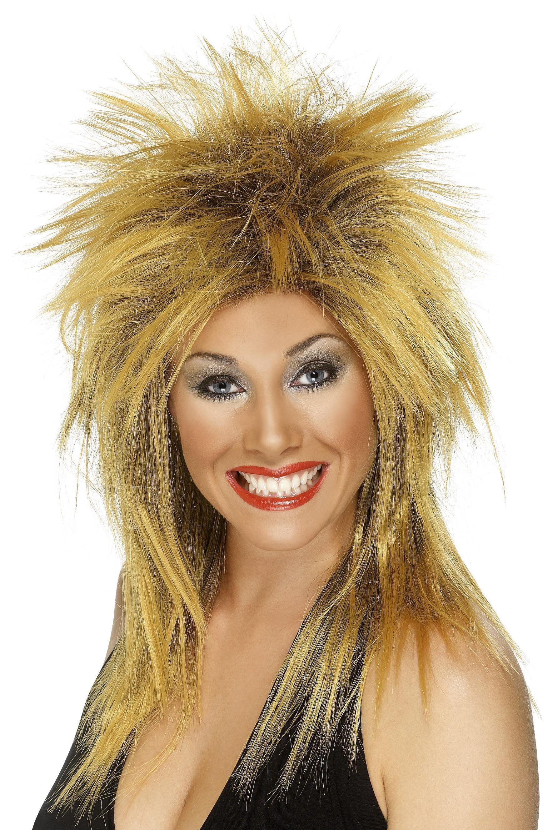 80s Rock Diva Wig Ginger