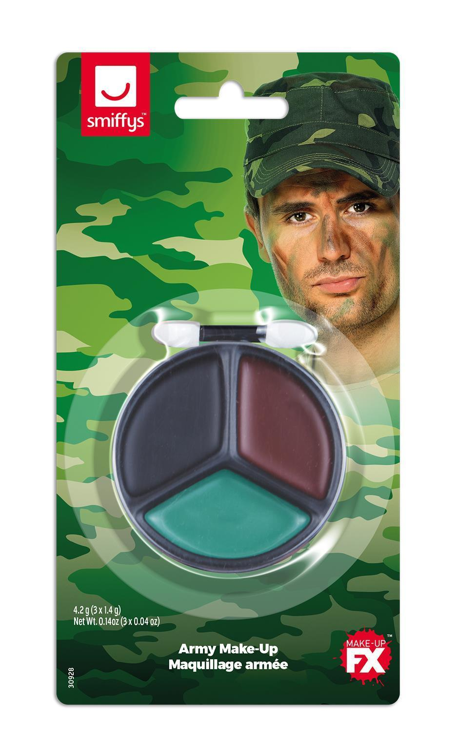 Smiffys Face Paint Kit Army