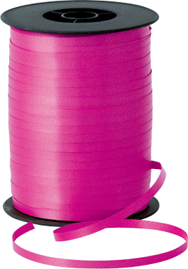 Balloon Curling Ribbon Hot Pink