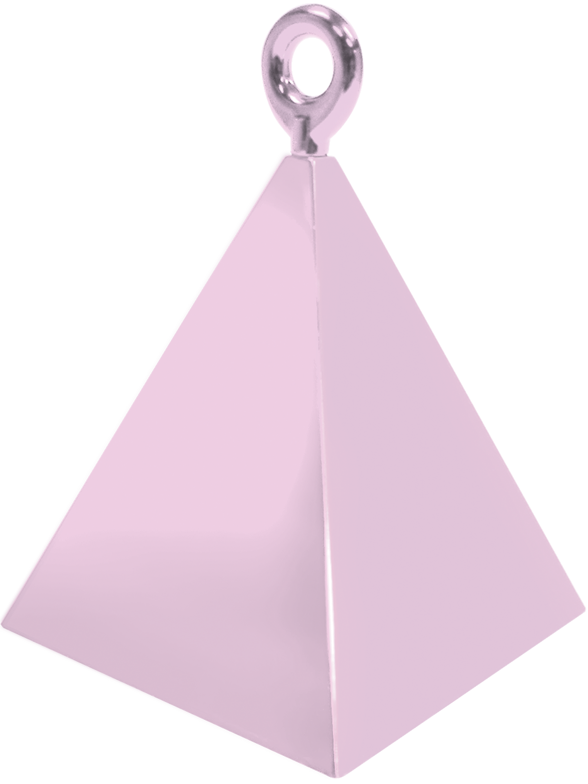 Pyramid Balloon Weight Pink