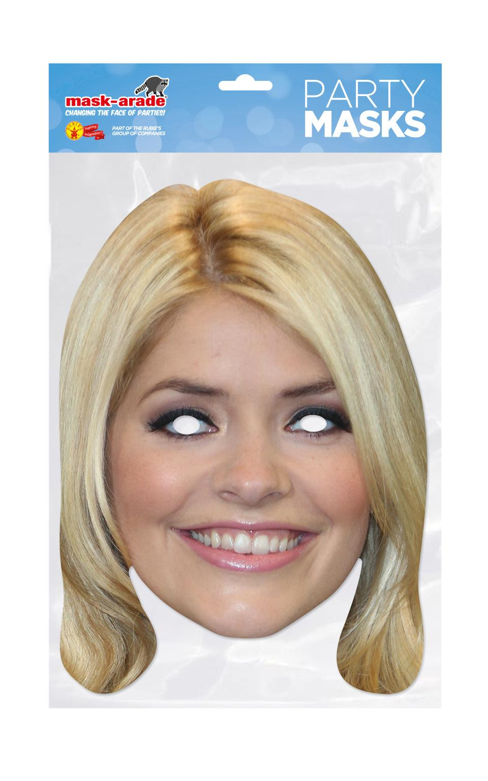 Holly Willoughby Mask