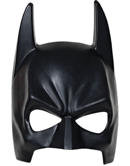 Bat Man Mask Black