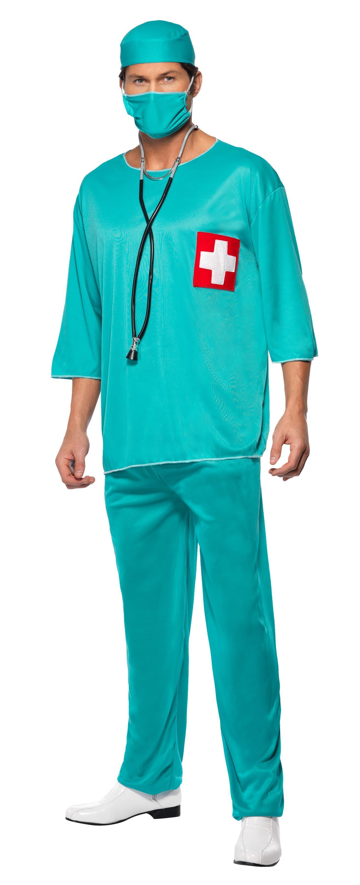 Surgeon Costume Green