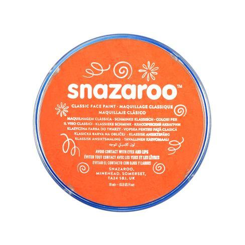 Snazaroo 18ml Face Paint Bright Orange