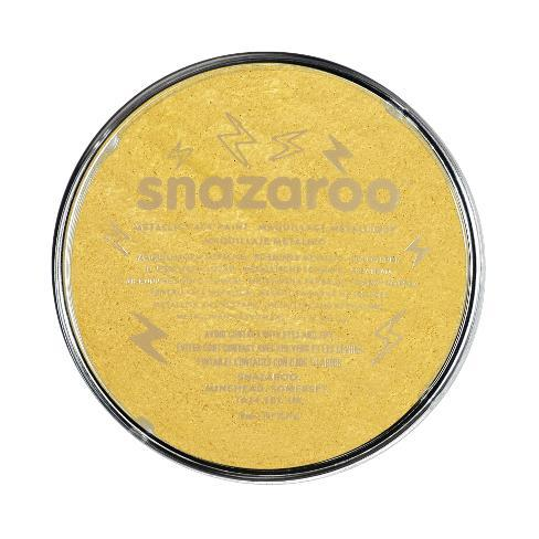 Snazaroo 18ml Metallic Face Paint Gold