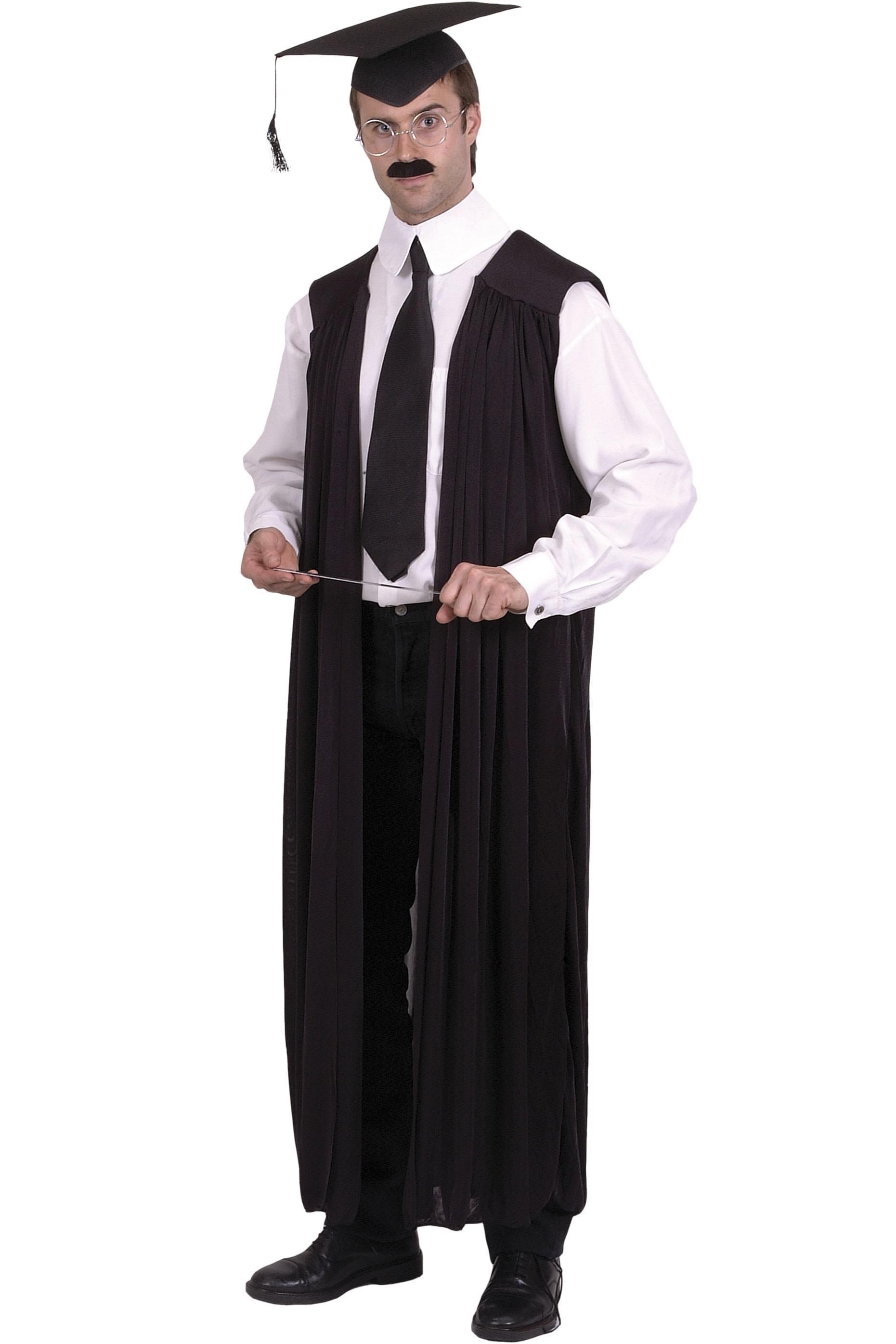 Teachers Gown Black