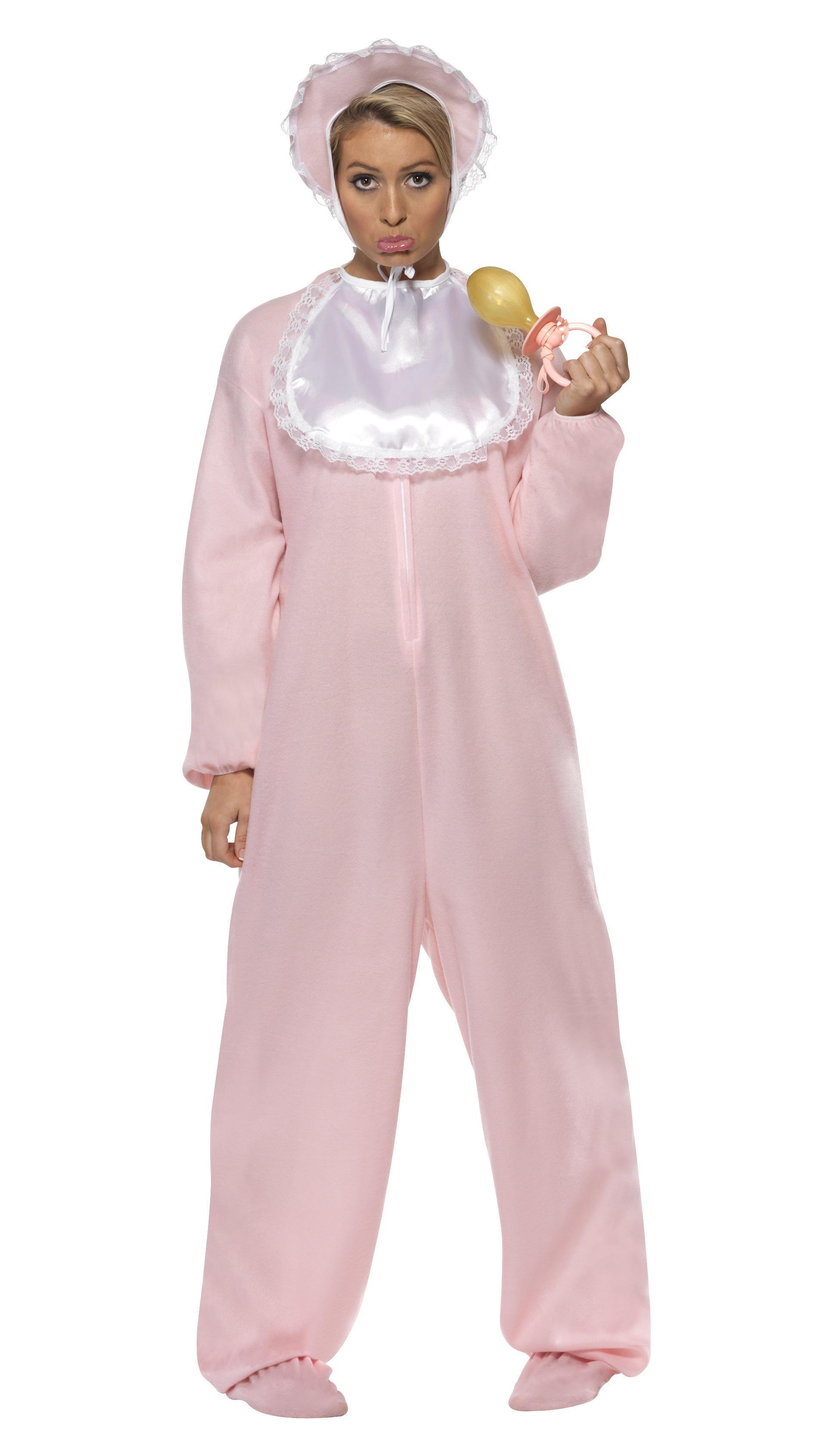 Baby Romper Costume Pink