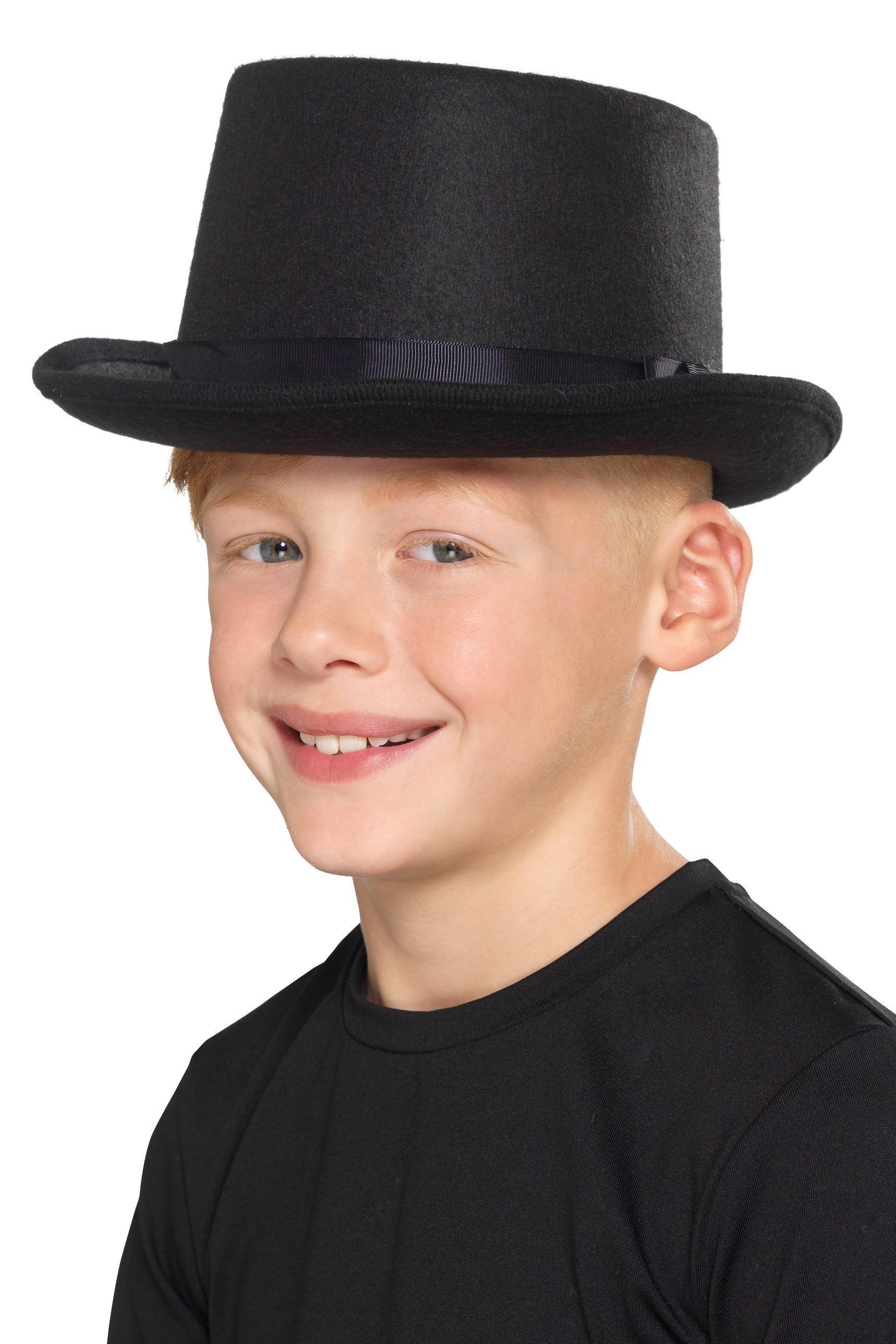 Kids Top Hat Black