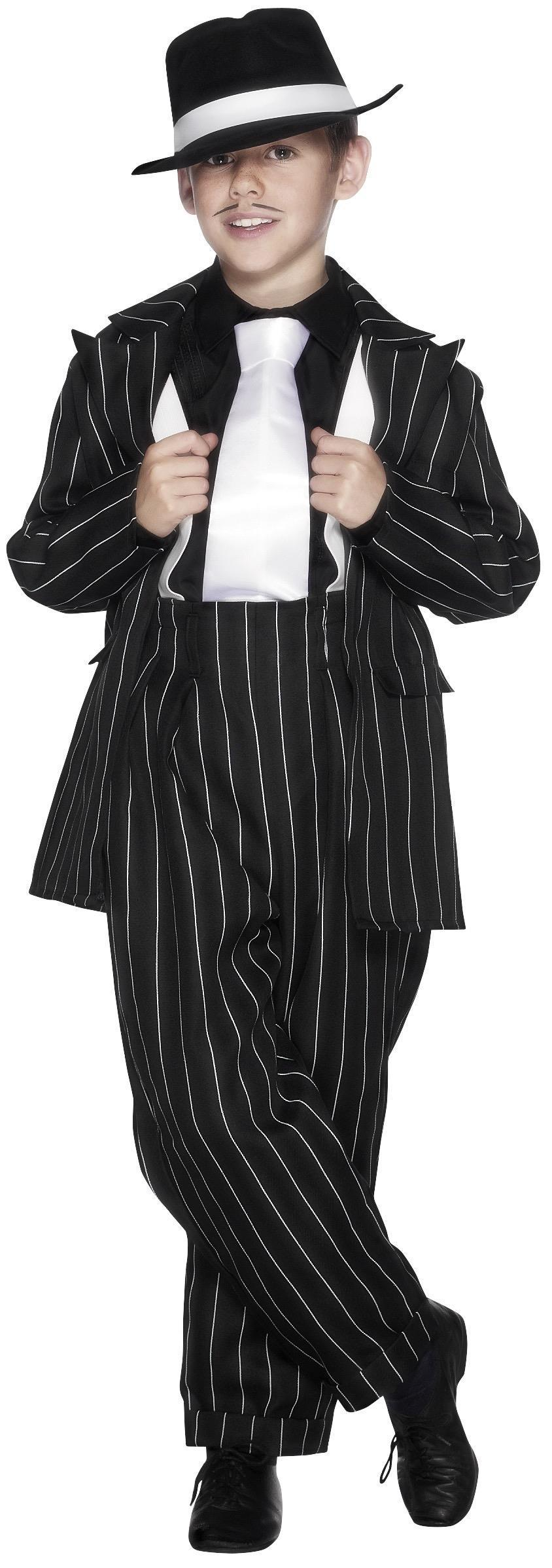 Kids Gangster Zoot Suit Costume
