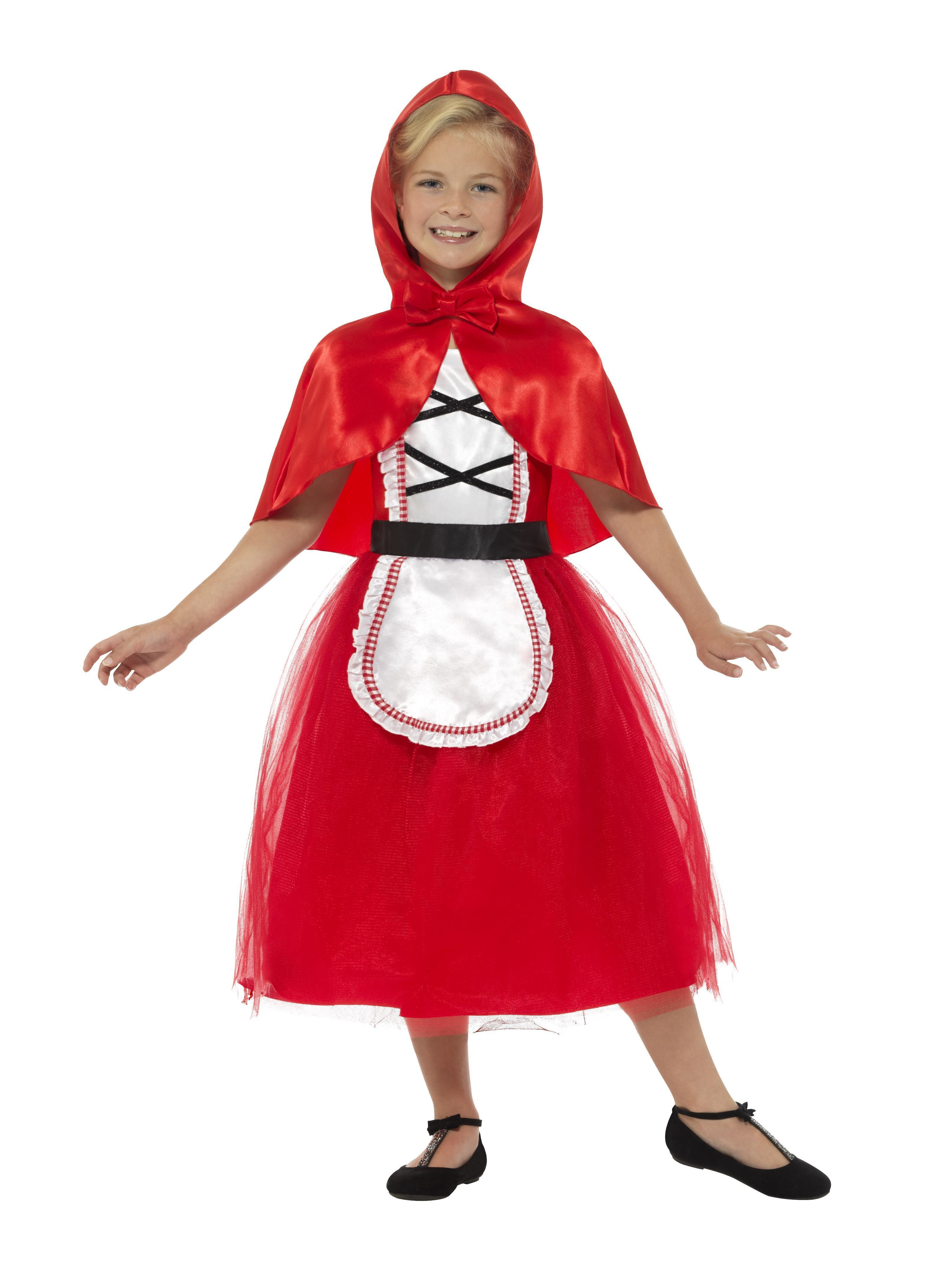 Kids Red Riding Hood Costume Deluxe