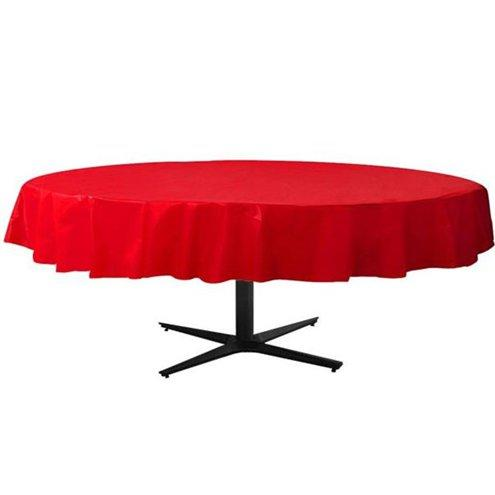 Table Cover Apple Red Round