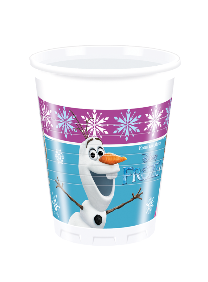 Plastic Cups Disney Frozen