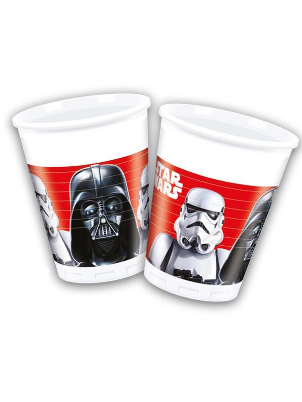 Plastic Cups Star Wars