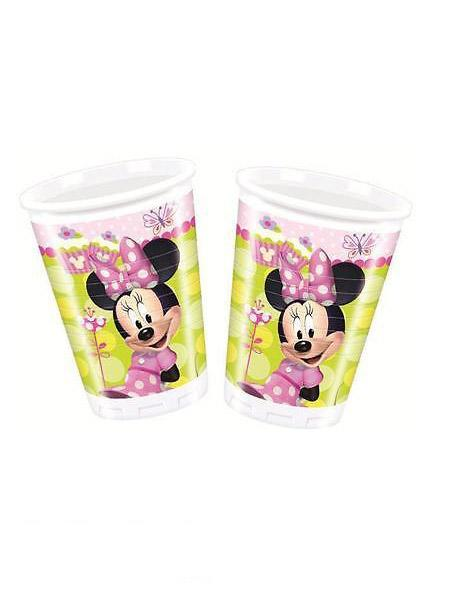 Plastic Cups Minnie Mouse