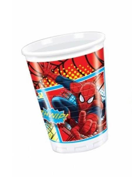Plastic Cups Spider-man