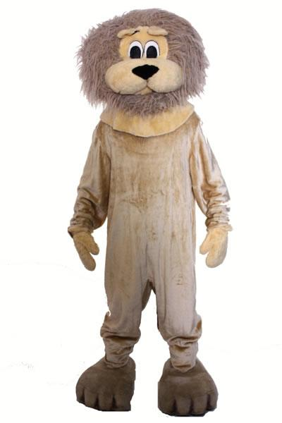 Lion Mascot Hire Costume