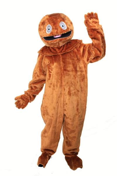 Rainbow Zippy Mascot Hire Costume