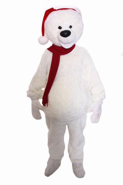 Polar Bear Mascot Hire Costume