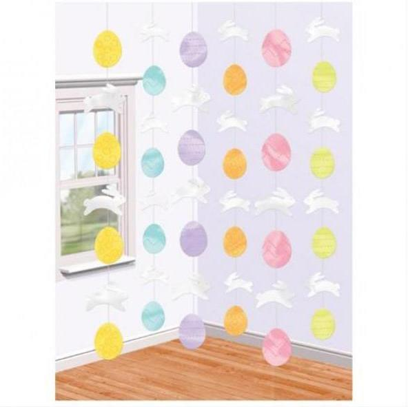 String Decoration Stars Easter Bunnies & Eggs
