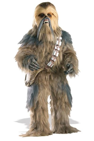 Chewbacca Hire Costume