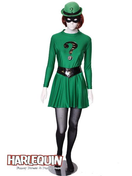 Riddle Girl Style Hire Costume