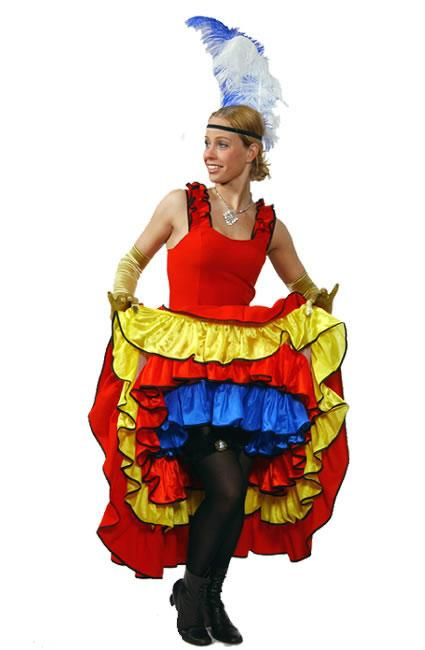 Moulin Rouge Hire Costume 4