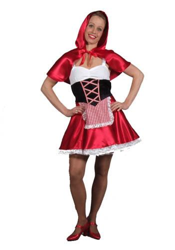Sexy Red Riding Hood Hire Costume