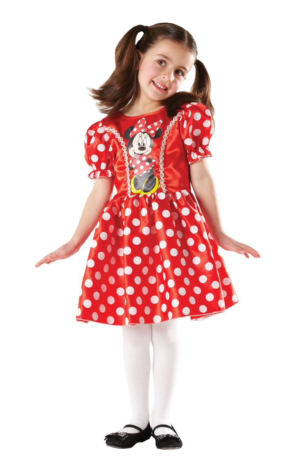 Kids Minnie Mouse Costume Red
