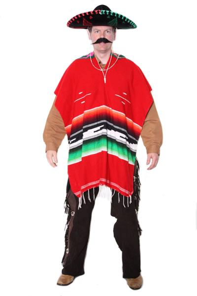 Mexican Red Hire Costume