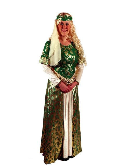 Maid Marion Hire Costume