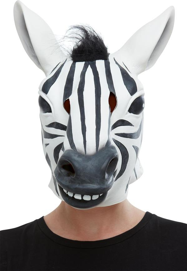 Zebra Mask Latex Overhead