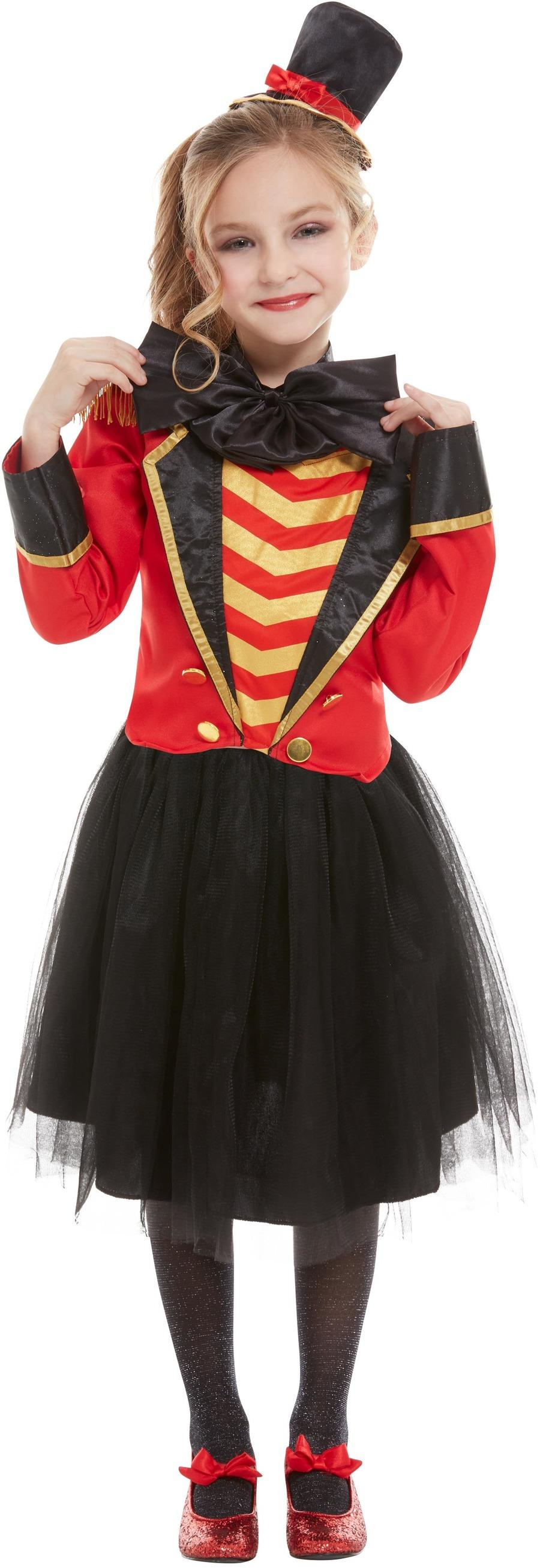 Kids Ringmaster Girl Costume