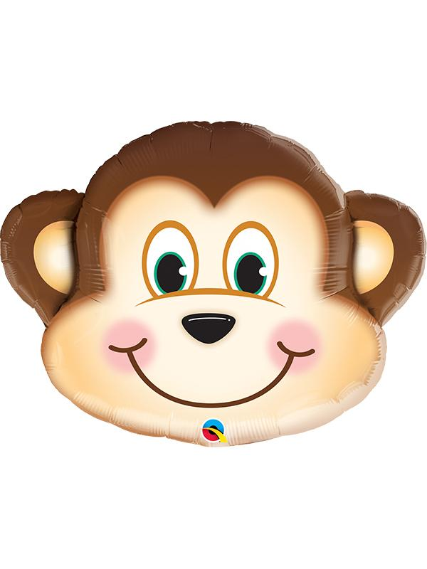 Foil Balloon Mischievous Monkey