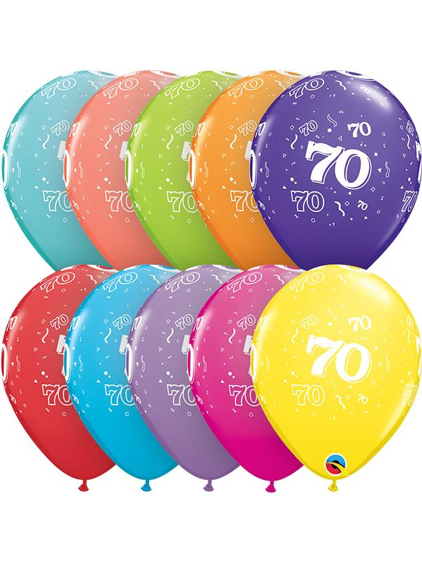 Latex Balloons Age 70