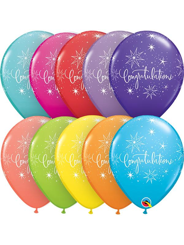 Latex Balloons Congratulations