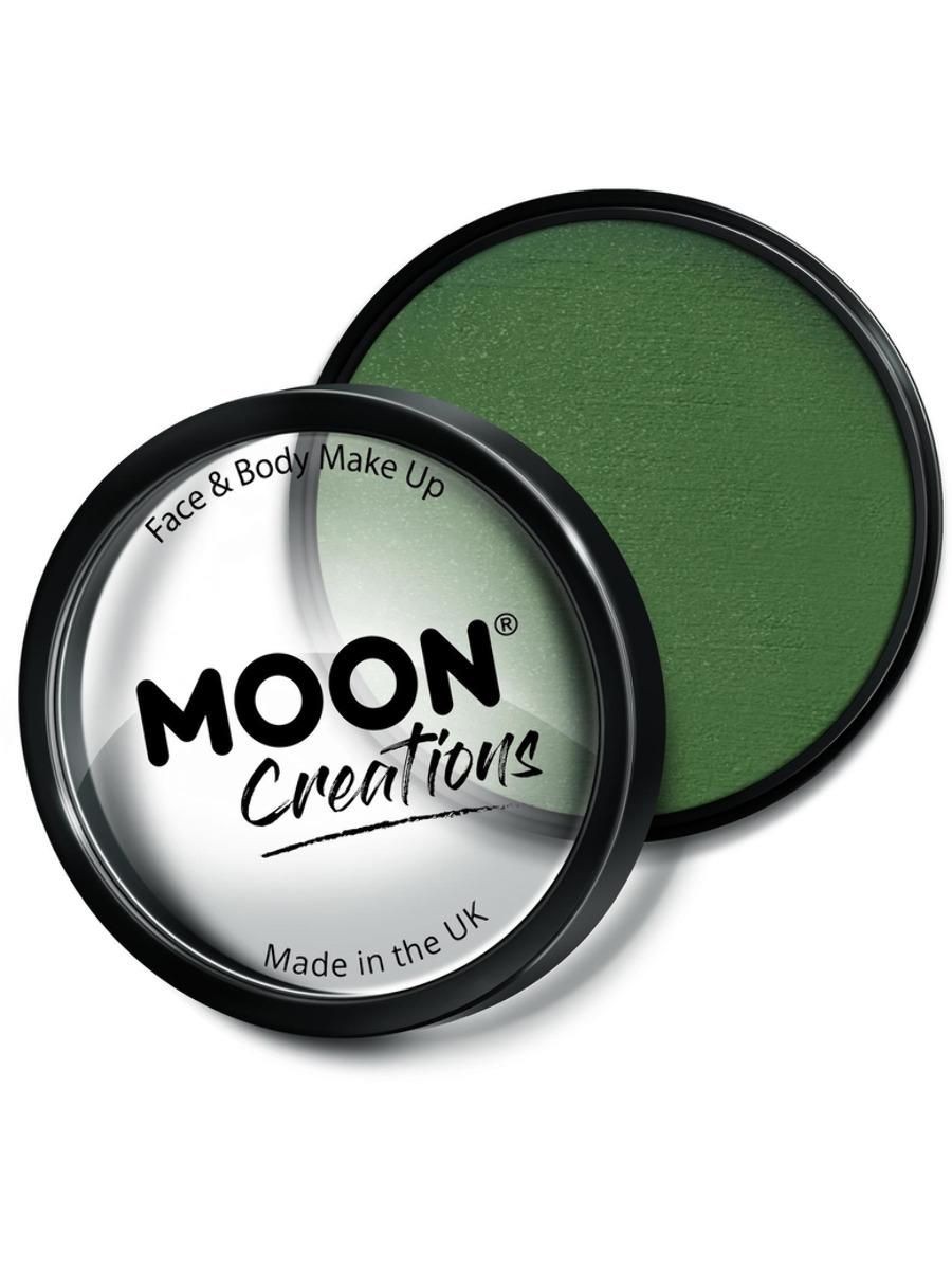 Moon Creations Pro Face Paint Army Green