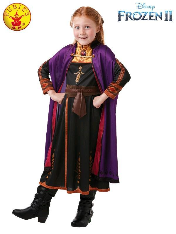 Frozen 2 Childs Anna Travel Costume