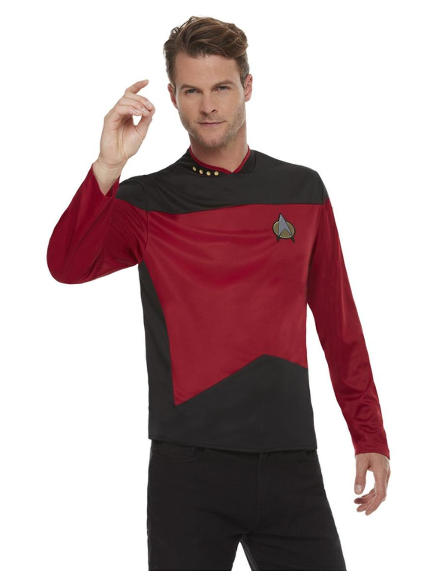Star Trek The Next Generation Command Uniform Top Red