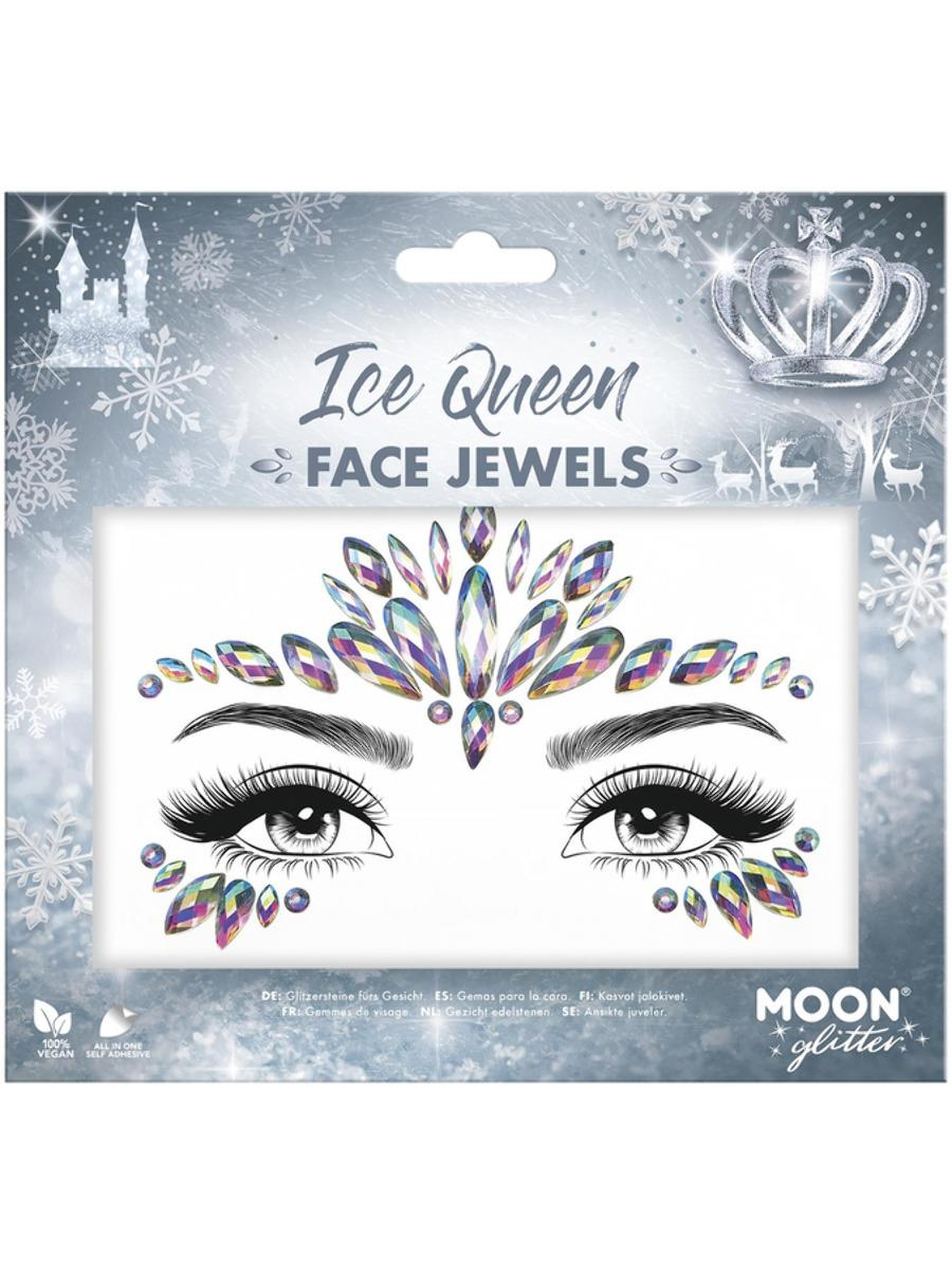 Glitter Face Jewels Ice Queen