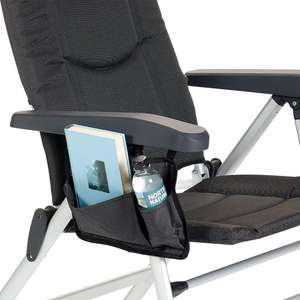 Isabella Chair Pocket Dark Grey | You Can Caravan